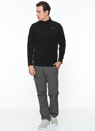Jack Wolfskin Polar Sweatshirt Siyah